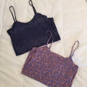 Free people intimately floral camisoles!